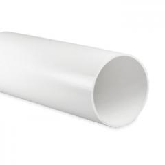 Kunststof ventilatiebuis rond Ø 125mm - Lengte 0,5 meter