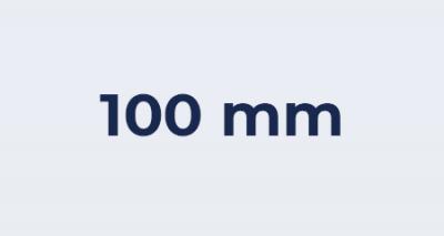 Badkamer ventilator 100 mm