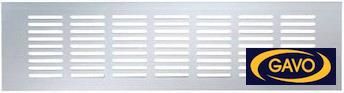 Aluminium ventilatiestrips voor ventilatie
